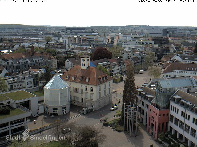 Sindelfingen Skyline Panorama and City Center